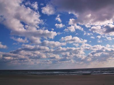 迫りくる雲の群れ