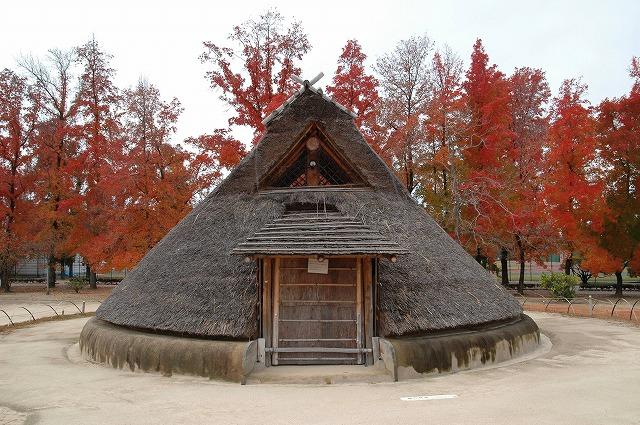 竪穴式住居1