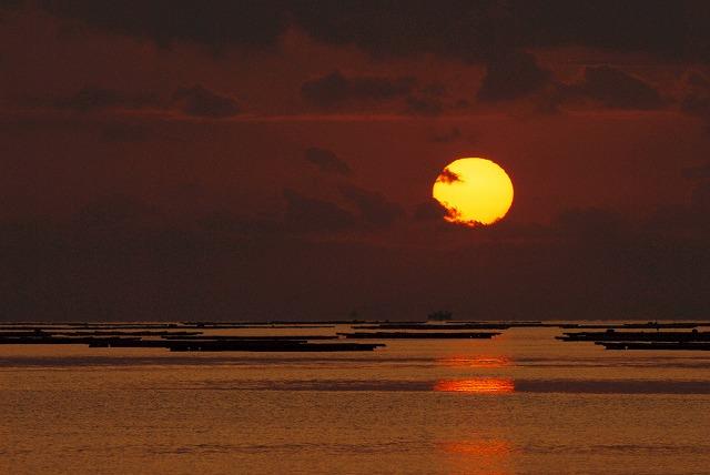 長島の日の出8