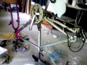自転車縮小