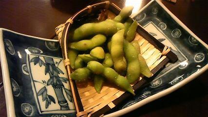 舞扇2 茹でたて枝豆