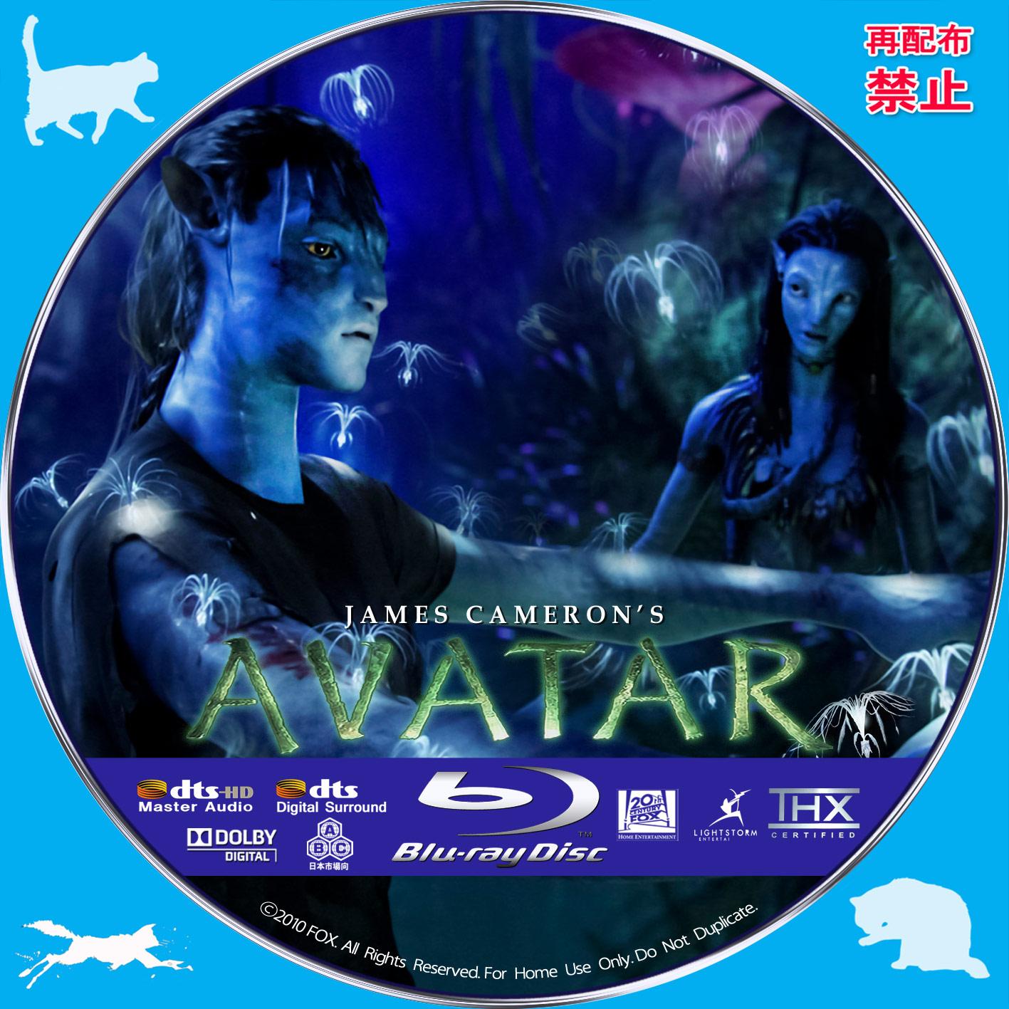Avatar 6: 自作DVDラベルにチャレンジ アバター 【原題】 AVATAR