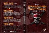 パイレーツ・オブ・カリビアン整理用4枚組DVDジャケット