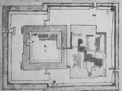 幕末の幻の二条城二の丸及び本丸御殿指図