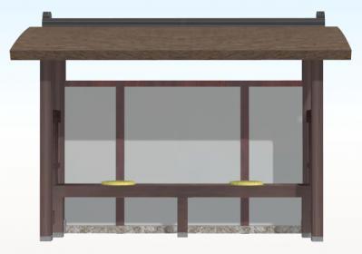 公家屋敷(供待・正面)