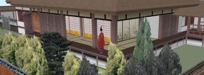 9-清閑寺家邸(南東クローズアップ)