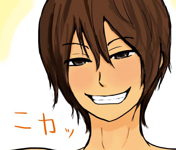 みかん笑顔