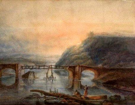 橋の絵153