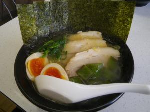 11013012一家・鶏スープ 全部乗せ(塩) 900円