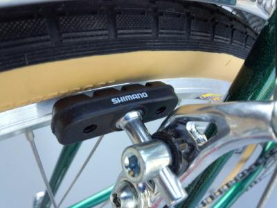 ランドナー装備 ブレーキ
