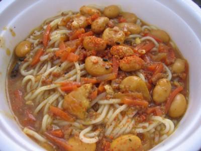 キーマカレー温麺