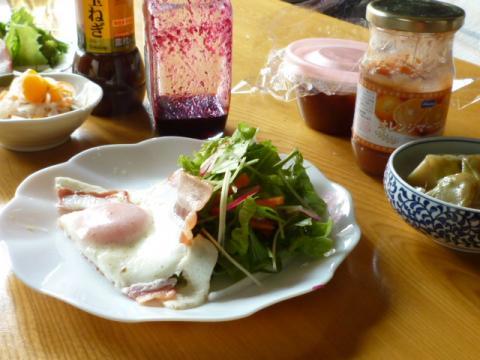 朝食☆初日
