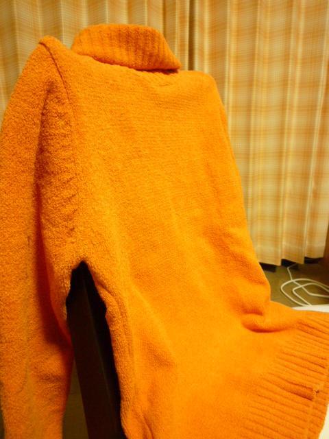 オレンジ色♪