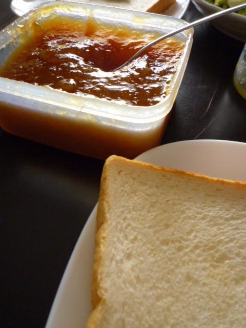 パンとジャム
