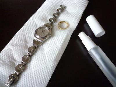 時計&指輪実験