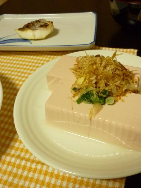 豆腐&塩焼き