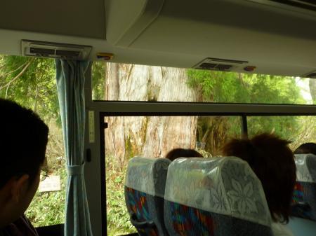 バス窓から1