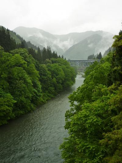 橋の上からの風景