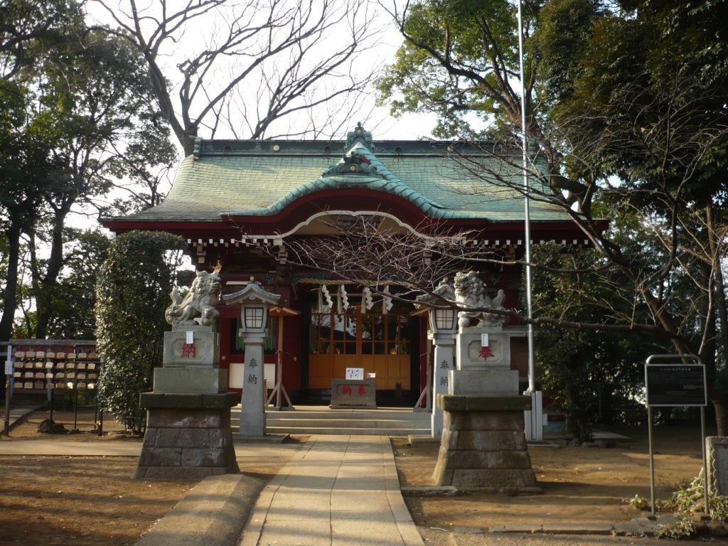 駒繋神社2