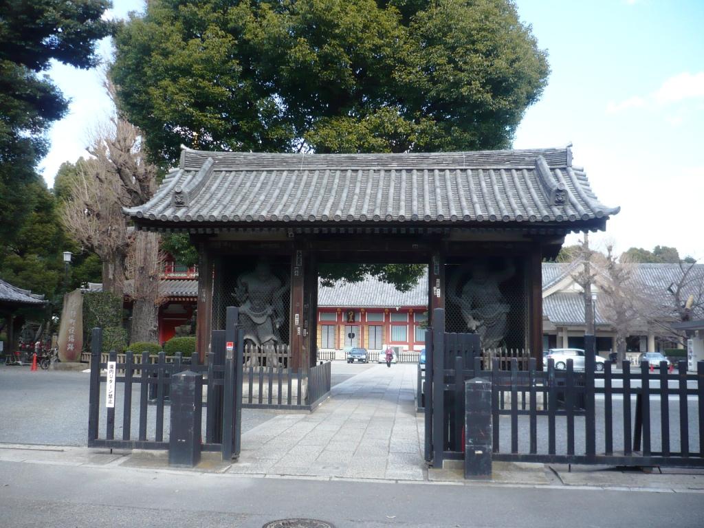 宝仙寺仁王門