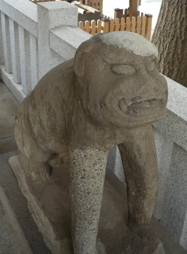 狛犬型庚申塔2