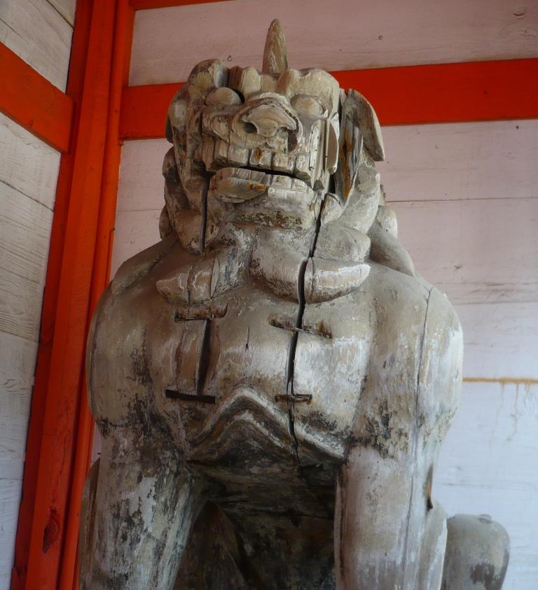 日御碕神社吽