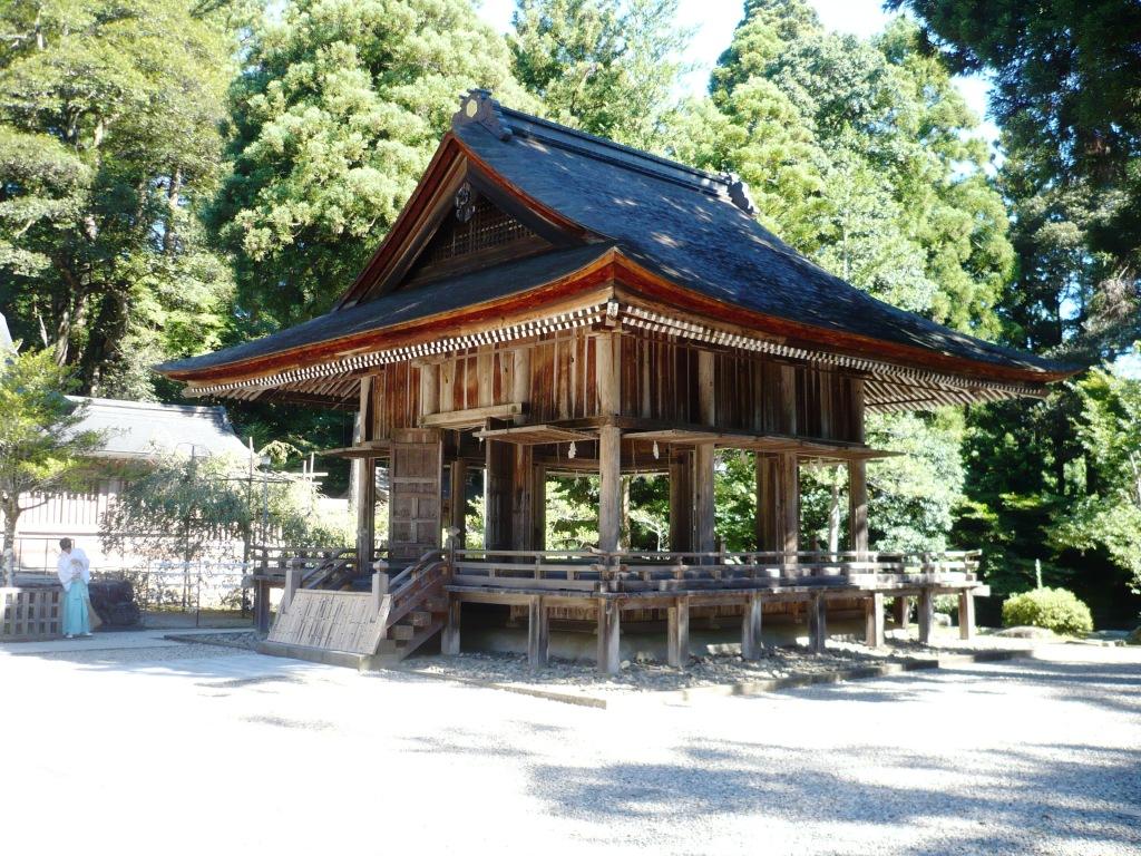 熊野大社舞殿
