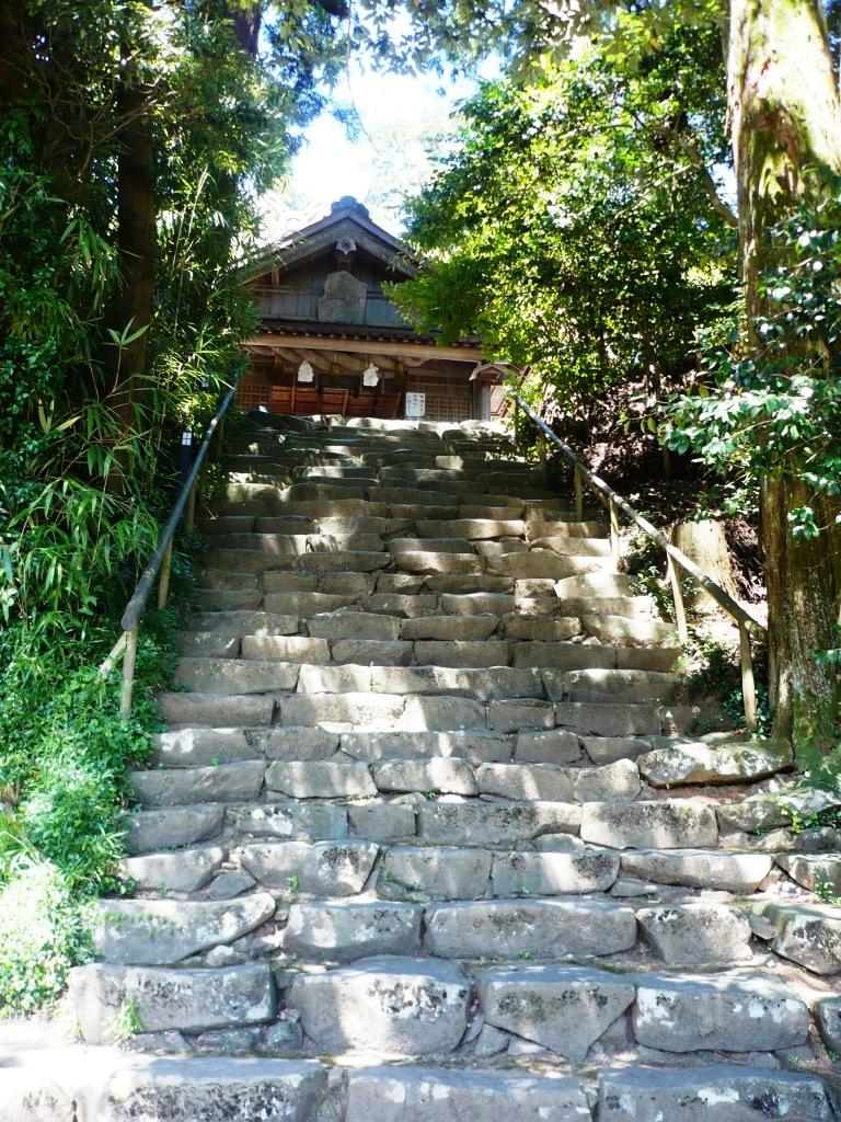 神魂神社石段2