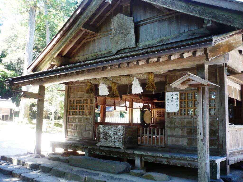 神魂神社拝殿2