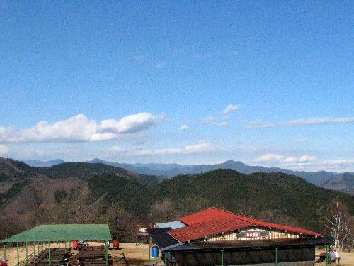 7 大岳山方向