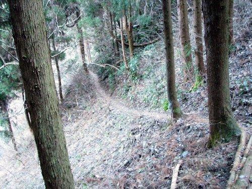6 小下沢への道