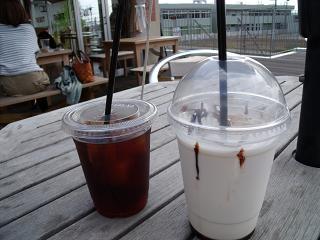 アイスコーヒー・チョコミルク