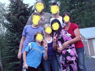 カナダの家族2