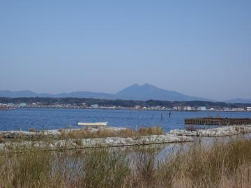 だんだん大きくなる筑波山