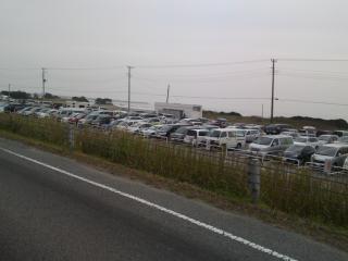たくさんの車