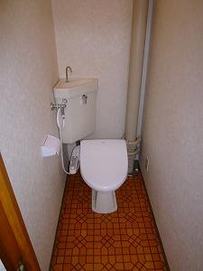 ベルマンション鈴力301トイレ