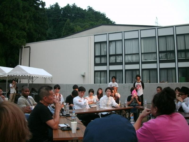 大瓜生山祭トーク画像