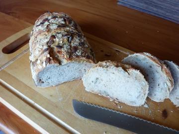 Spelt & Pumkin seed bread