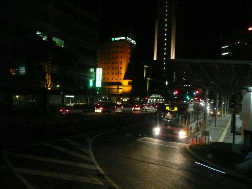 JR金沢駅前(駅前大通り側、10.8.31)