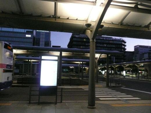 JR京都駅(烏丸中央口バスターミナル、10.9.1)