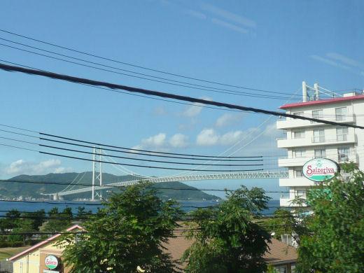 神戸市・明石海峡大橋(10.9.1)