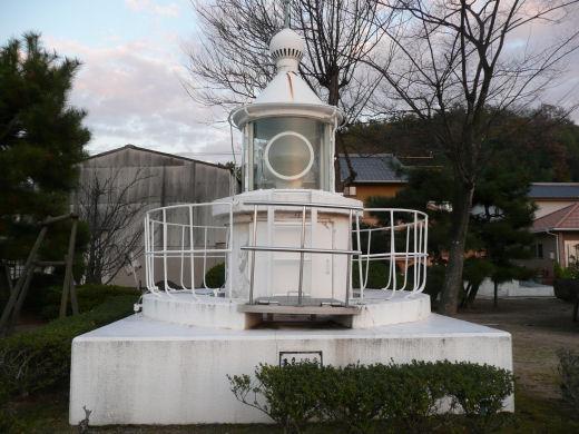 倉敷市・旧玉島灯台(10.12上旬)