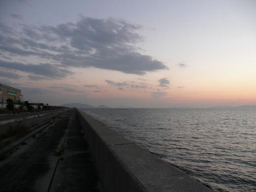 倉敷市・玉島ハーバーアイランド西岸(その2、10.12上旬)