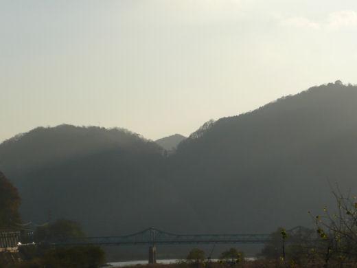 総社市・種井地内(水内橋方向、10.12上旬)