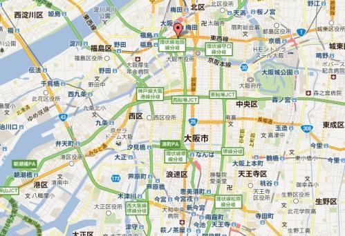MAP_大阪市