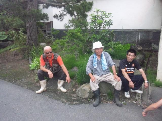 両巨匠と奈良輪さん