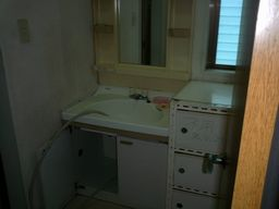 O様邸 旧洗面所