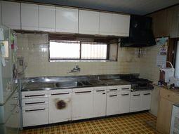 Y様邸 旧キッチン