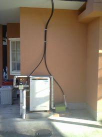 K様邸 ガス給湯器