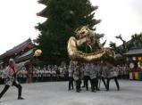 菊供養会 金龍の舞